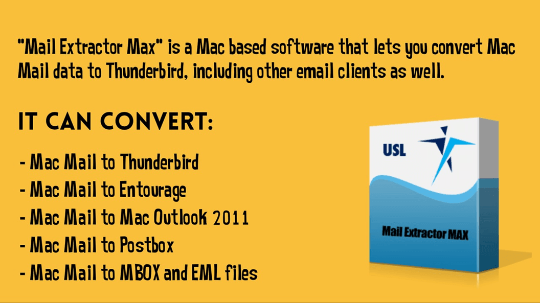 Export Mac Mail to Thunderbird