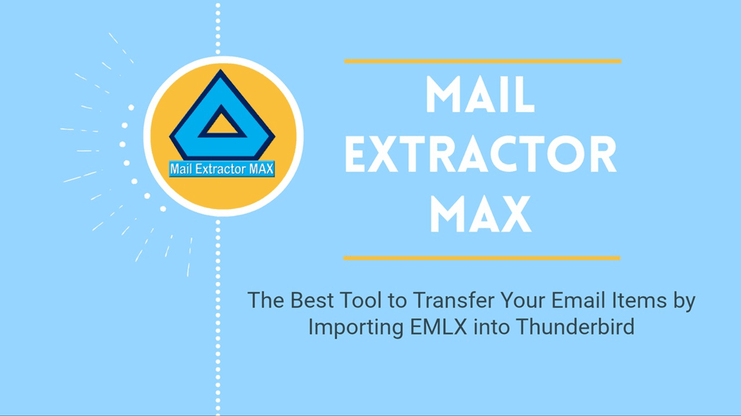 Import emlx into thunderbird