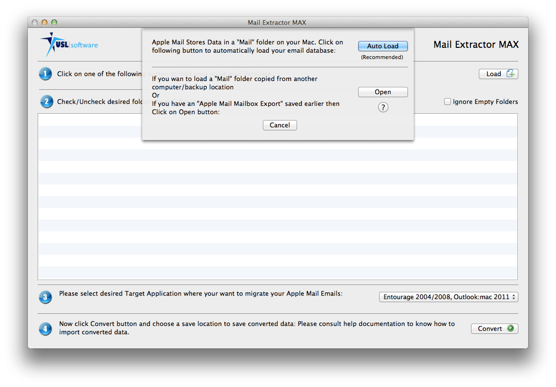 how to convert apple mail to postbox database