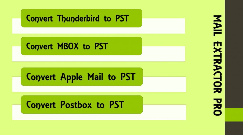 Mac Mail to PST