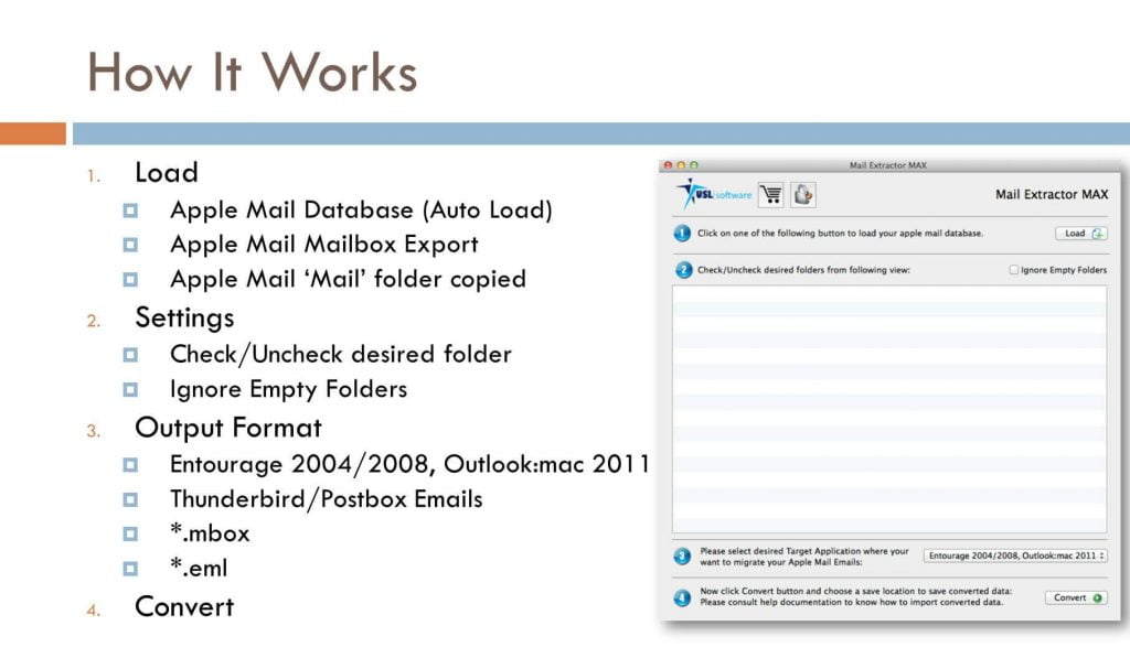 Apple Mail to EML converter