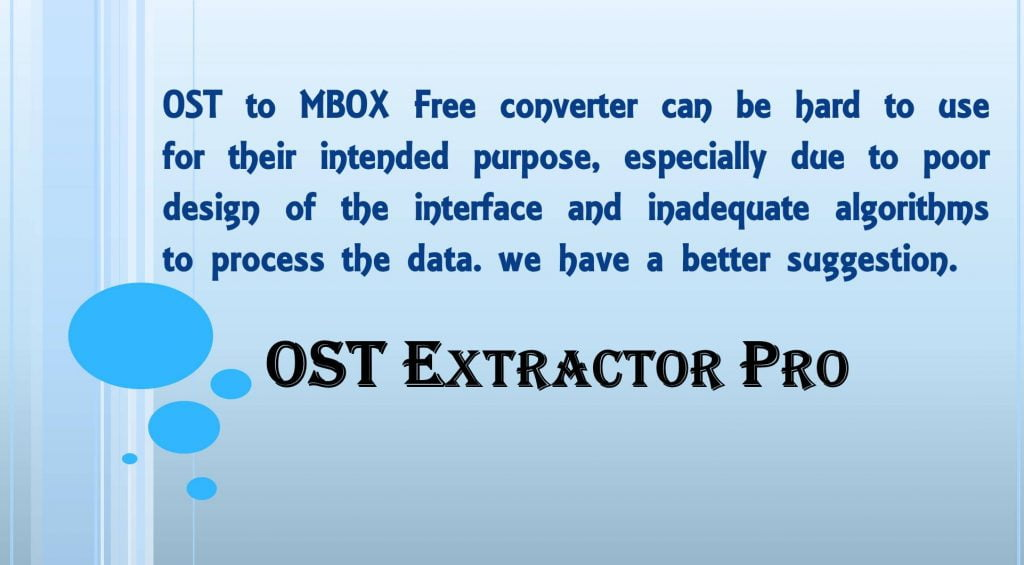 ost to mbox converter
