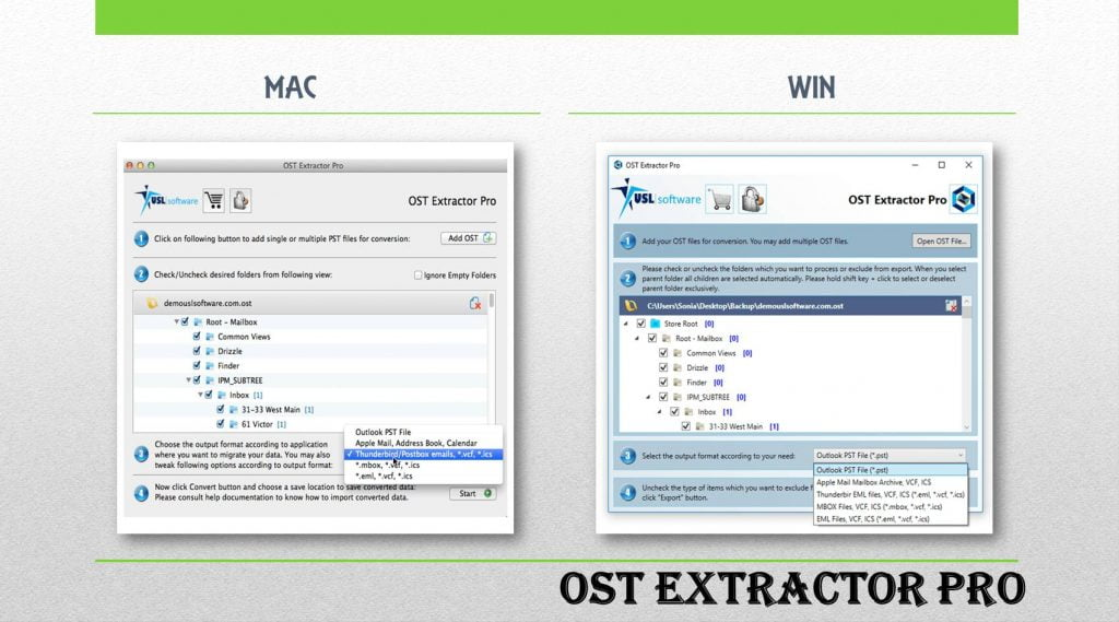Microsoft OST to PST Conversion Software