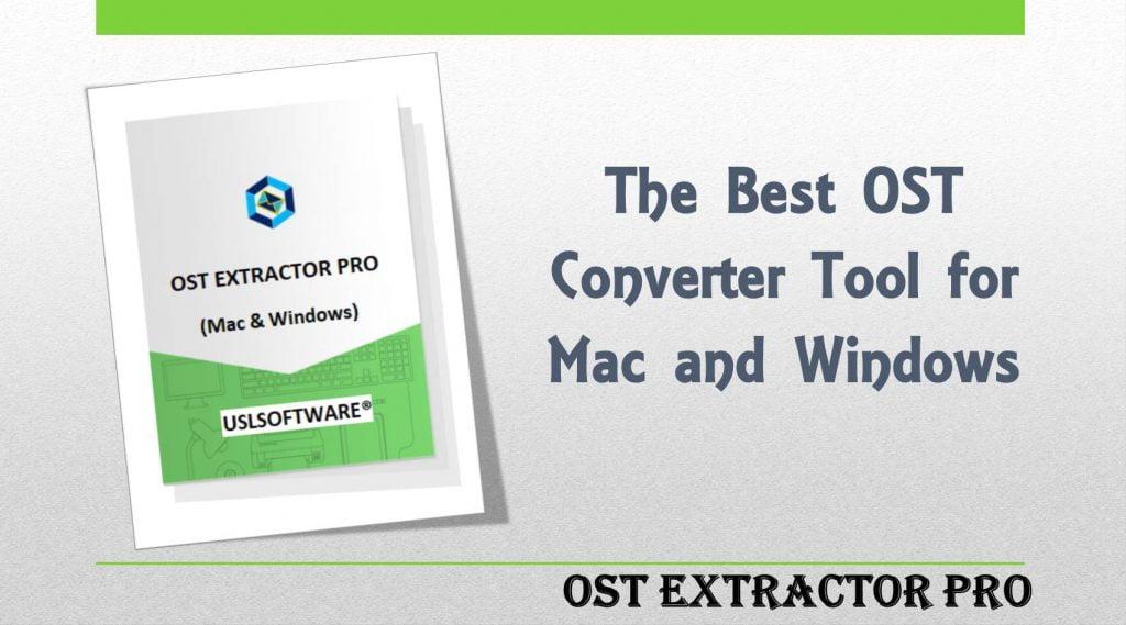 Microsoft OST to PST Conversion on Windows